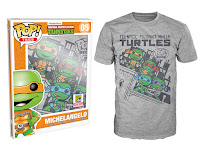 Pop! Tees: Teenage Mutant Ninja Turtles - Skyline Group