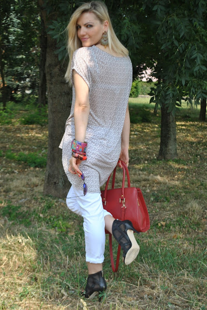 jeans bianchi outfit jeans bianchi come abbinare i jeans bianchi maglia asimmetrica fattori fattori shirt mariafelicia magno fashion blogger colorblock by felym fashion blog italiani outfit estivi donna outfit estate 2015 outfit luglio summer outfit s summer outfits for girls