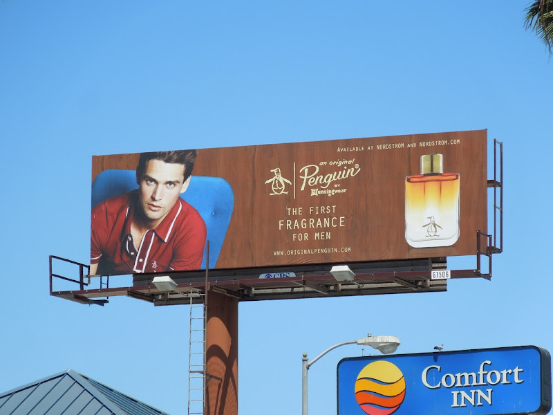 Penguin Fragrance billboard