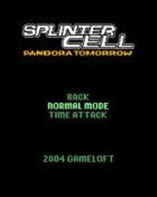 Splinter Cell Pandora Tomorrow para Celular