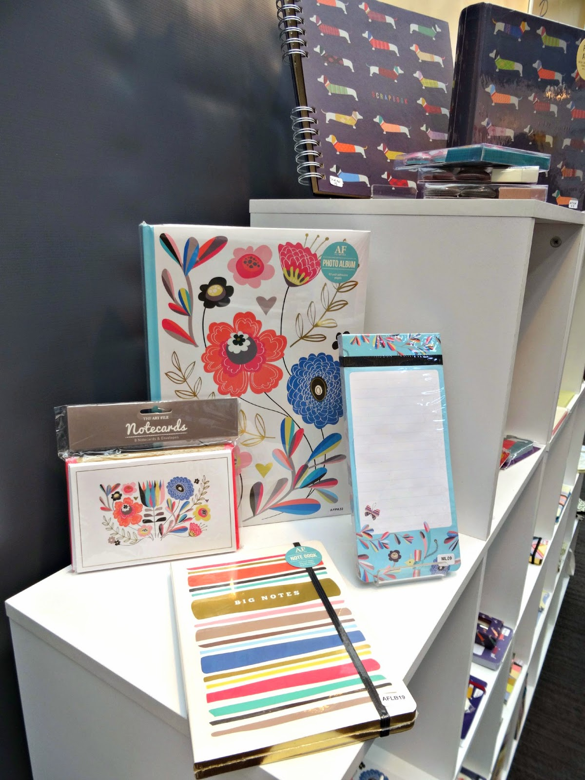 The Art File stationery