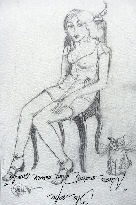 """"""" Autoportrait assis """""""