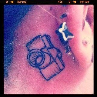 ♥ ♫ ♥ Camera Tattoo. I love this. ♥ ♫ ♥