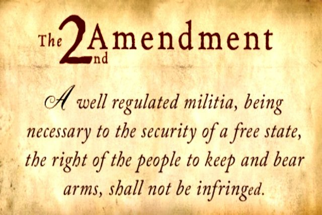 The Second Amendment of the United States Constitution