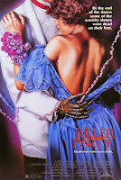 poster killer party 80s horror