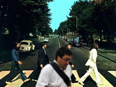 fotógrafo arruina foto de los Beatles cruzando la calle de Abbey Road