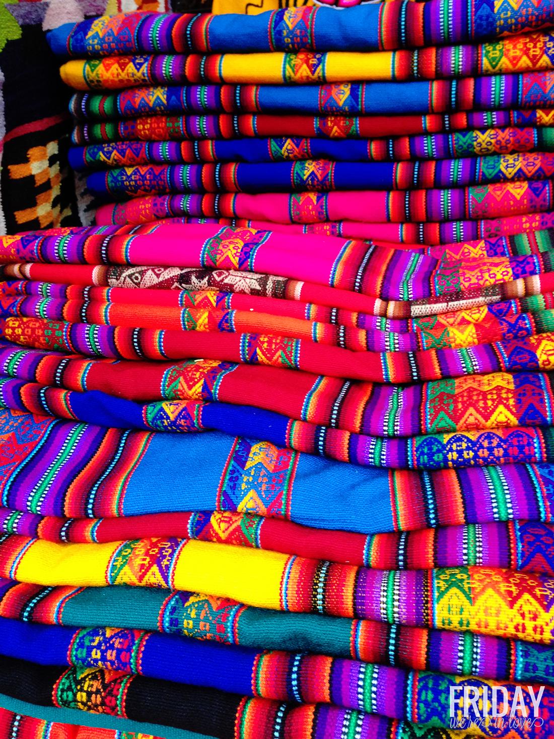 Textiles- Pisac Market