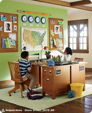 Mel 39 s mouthful on mothering homeschooling room of dreams - How to organize your desk at home for school ...