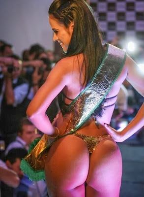 New Miss BumBum, Dai Macedo hot big butt