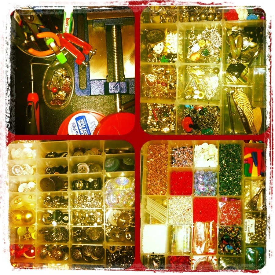 Oribello asian glamour pop craft christmas project for Michaels crafts stockton ca