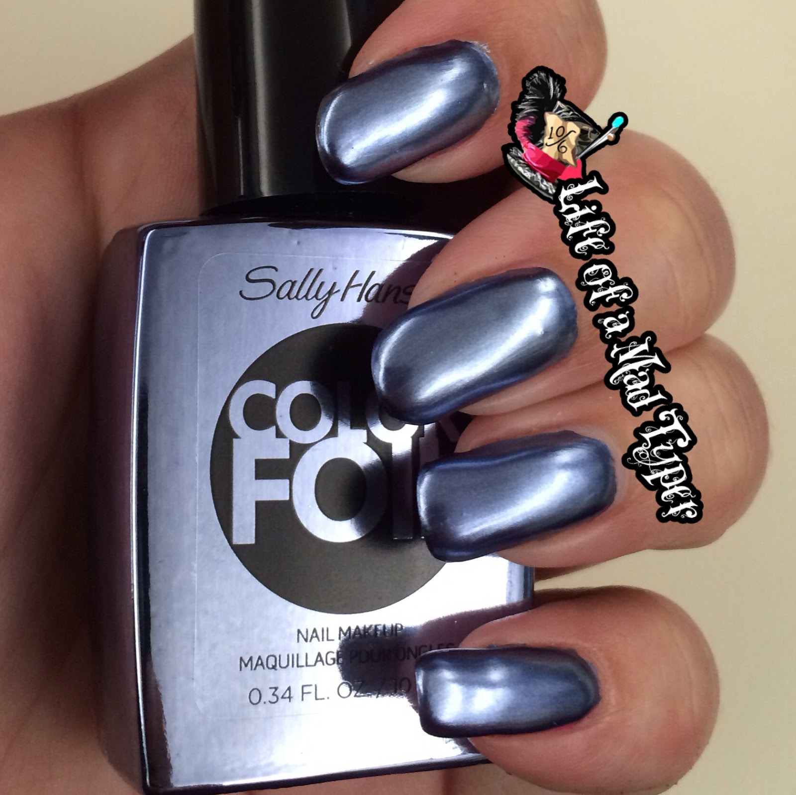 Sally Hansen ColorFoil Leaden Lilac