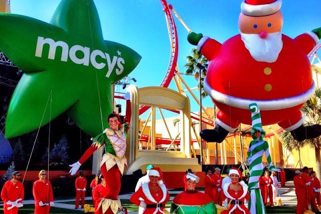 Natal Orlando Universal Macys Parada