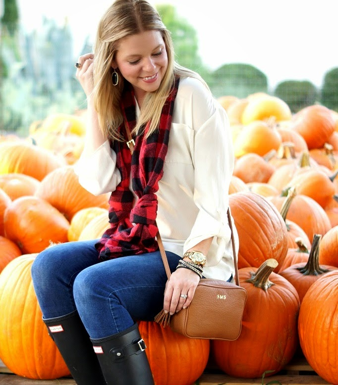 PIcture idea in a pumpkin patch