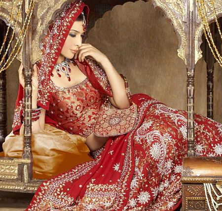 indian bridal makeup photos. indian wedding dresses for