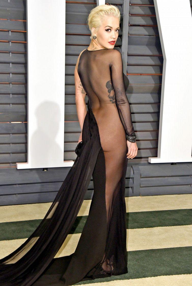 Голые платья звёзд Голливуда