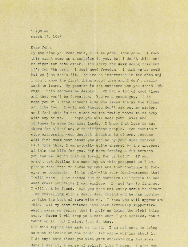 dear john letter example - photo #20