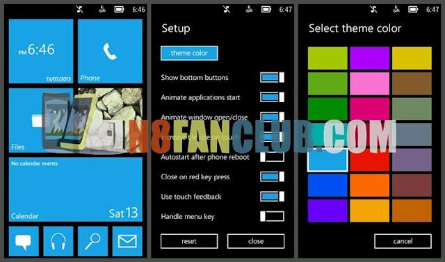 tema windows 8 untuk android gingerbread ui