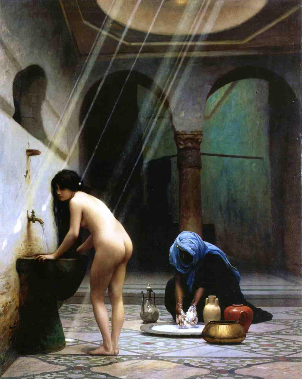 gérôme pool painting