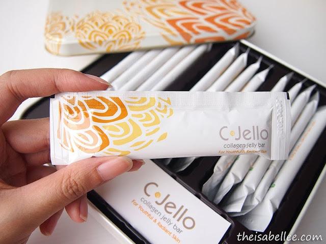 1 sachet of C-Jello Collagen Jelly Bar