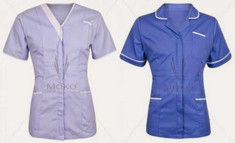 model baju kerja perawat