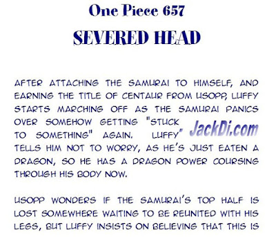 ONE PIECE MANGA SPOILERS CONFIRMED 657 One Piece 658 One Piece 659