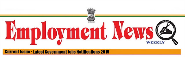 Employment news PDF  2015 government govt  jobs recruitment in Indian railways  banks