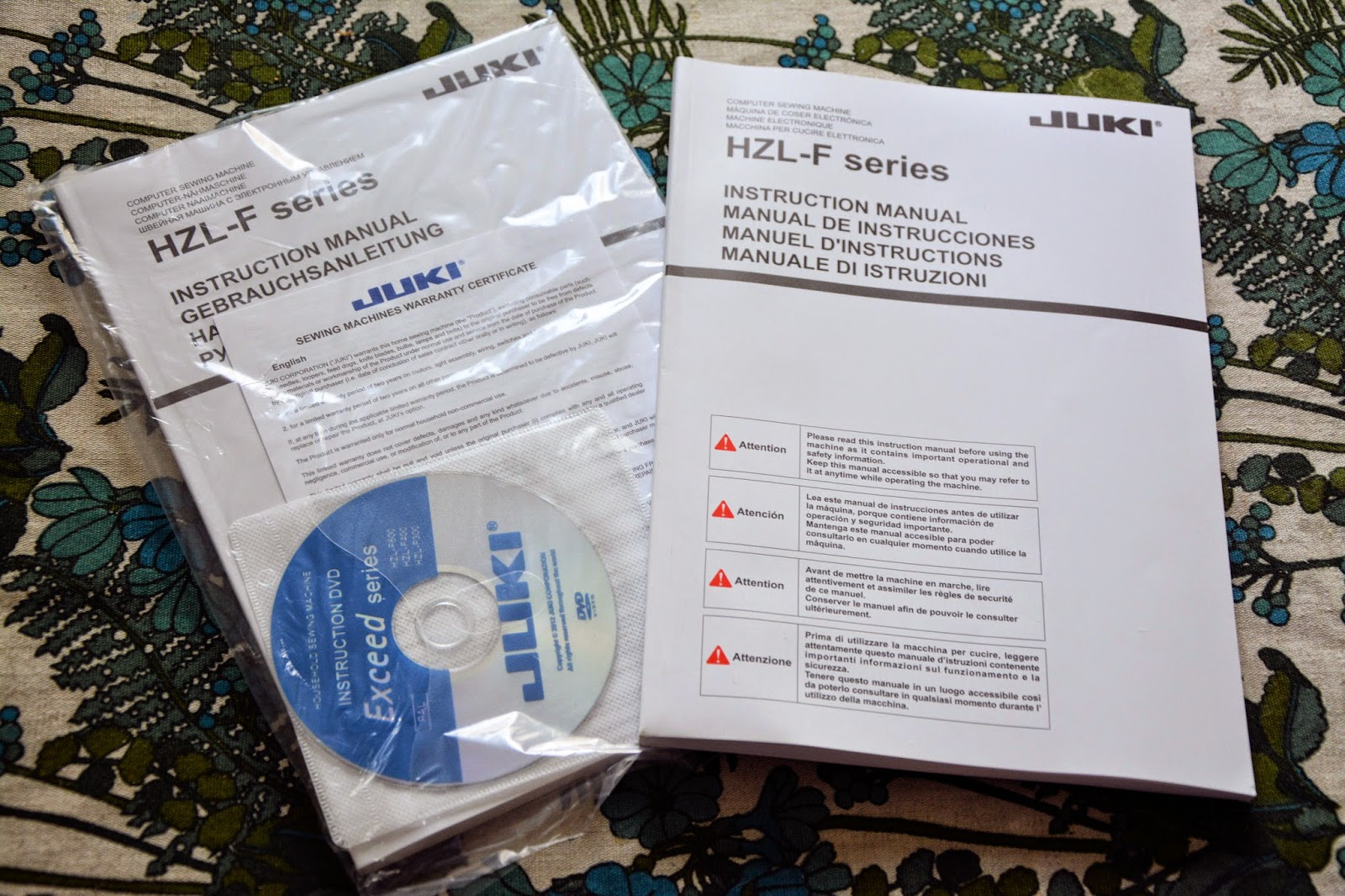 инструкция для juki hzl-f