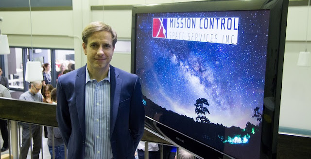 Ewan Reid, President and CEO, Mission Control Space Services. (Credit: Sean Costello, Spaceflight Insider, 2015)