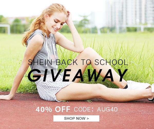 SHEIN BACK TO SCHOOL