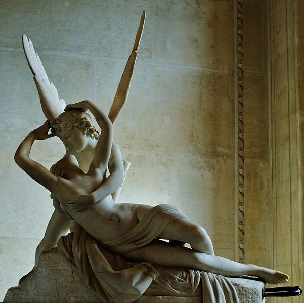 Canova's 'Psyche Revived by Cupid's Kiss.' Photo: WikiMedia.org.