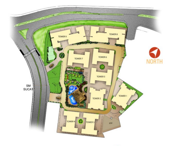 Avida Towers Sucat Development Map