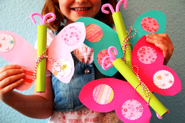 Diy Kindergeburtstag // Was Eigenes Diy Blog, Einladung