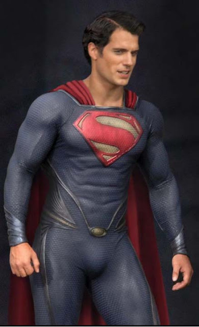 Henry Cavill in possible Superman costume