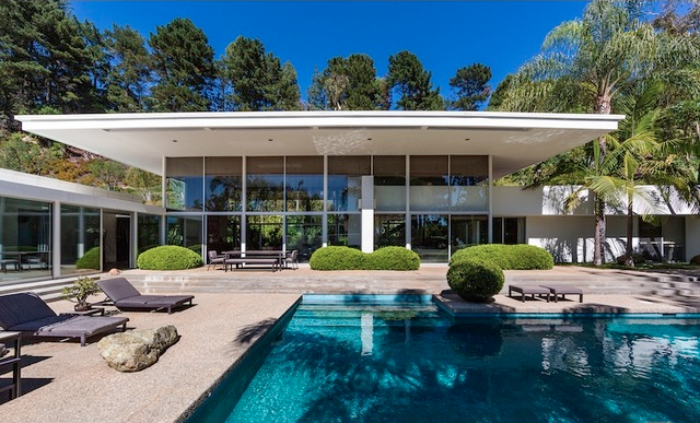 Modern Homes Los Angeles Robert Skinner Trousdale Mid