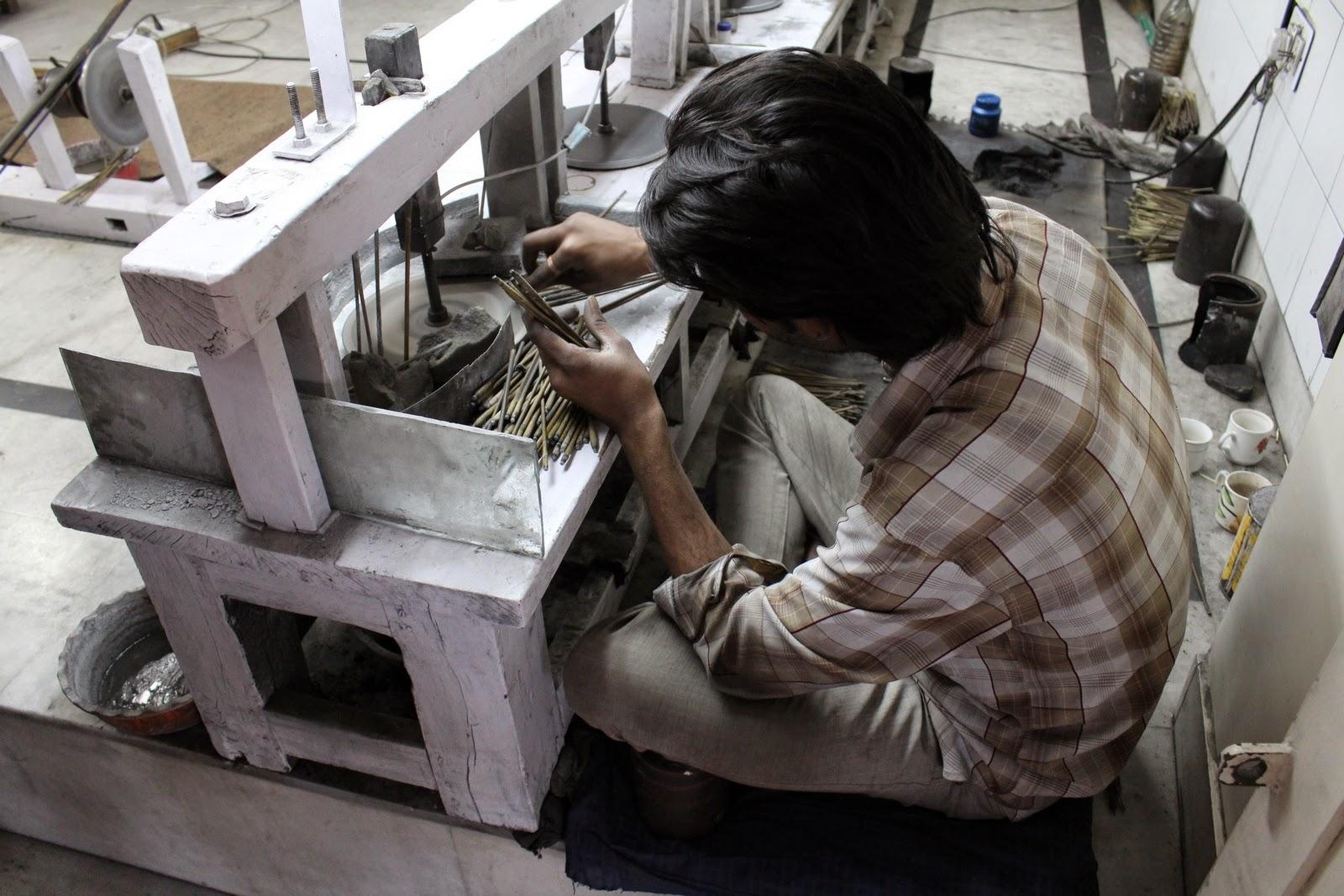 Jaipur: drágakő csiszoló