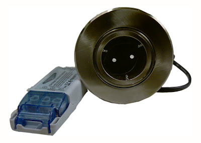 The Low Voltage FRFLV Fire Rated Fixed Downlights - 12V Fittings, transformer included