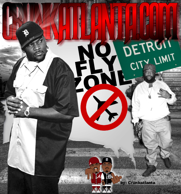"Trick Trick -""ITS A NO FLY ZONE"" in Detroit - Claims that Rick Ross Got Denied  WorldStar Promo"