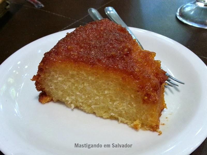 Dom Crioulo Café: Torta de Tapioca