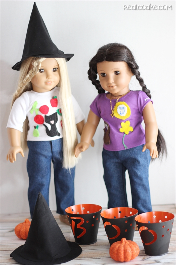 Hocus Pocus ~ Doll Witch Hat {American Girl Doll Clothes Pattern}