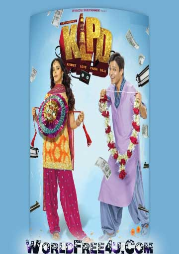 Poster Of Bollywood Movie Kismet Love Paisa Dilli (2012) 300MB Compressed Small Size Pc Movie Free Download World4ufree.Org
