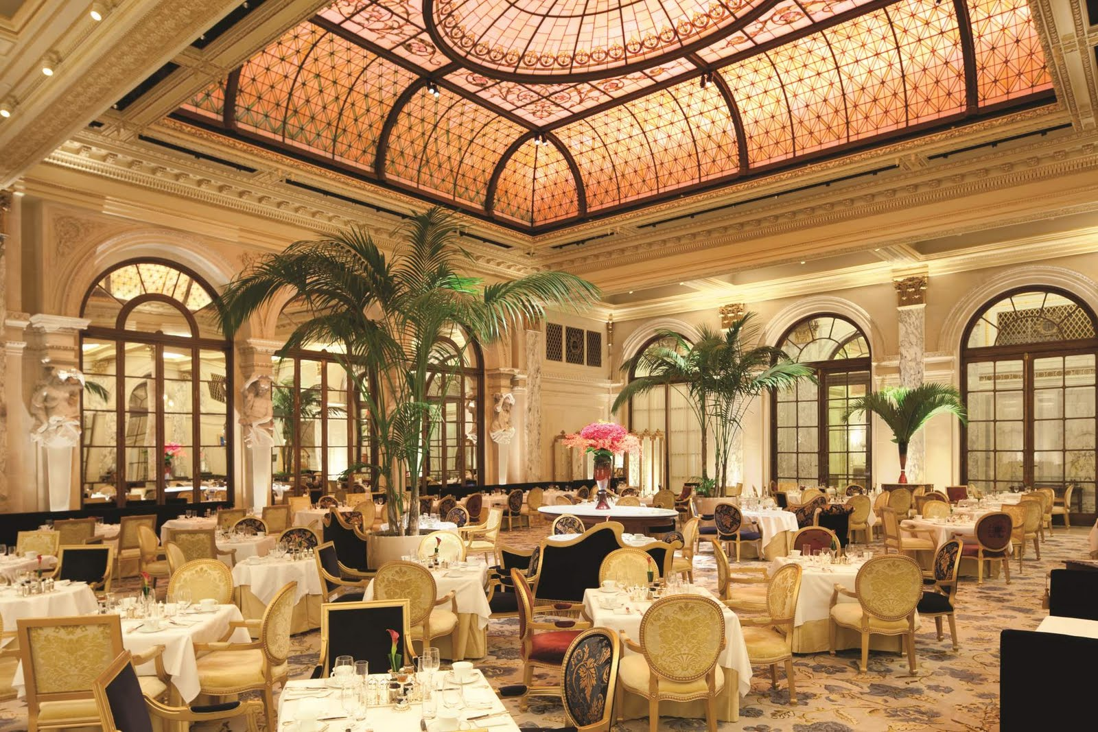 The Palm Court Lounge At The Drake Hotel