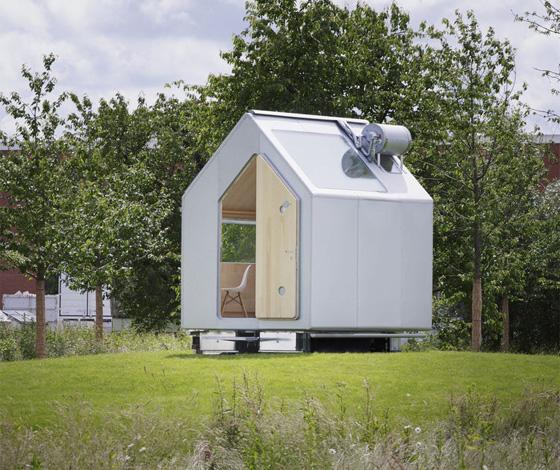 Diogene Kabine von VITRA - minimalistisches Selbstversorger Haus