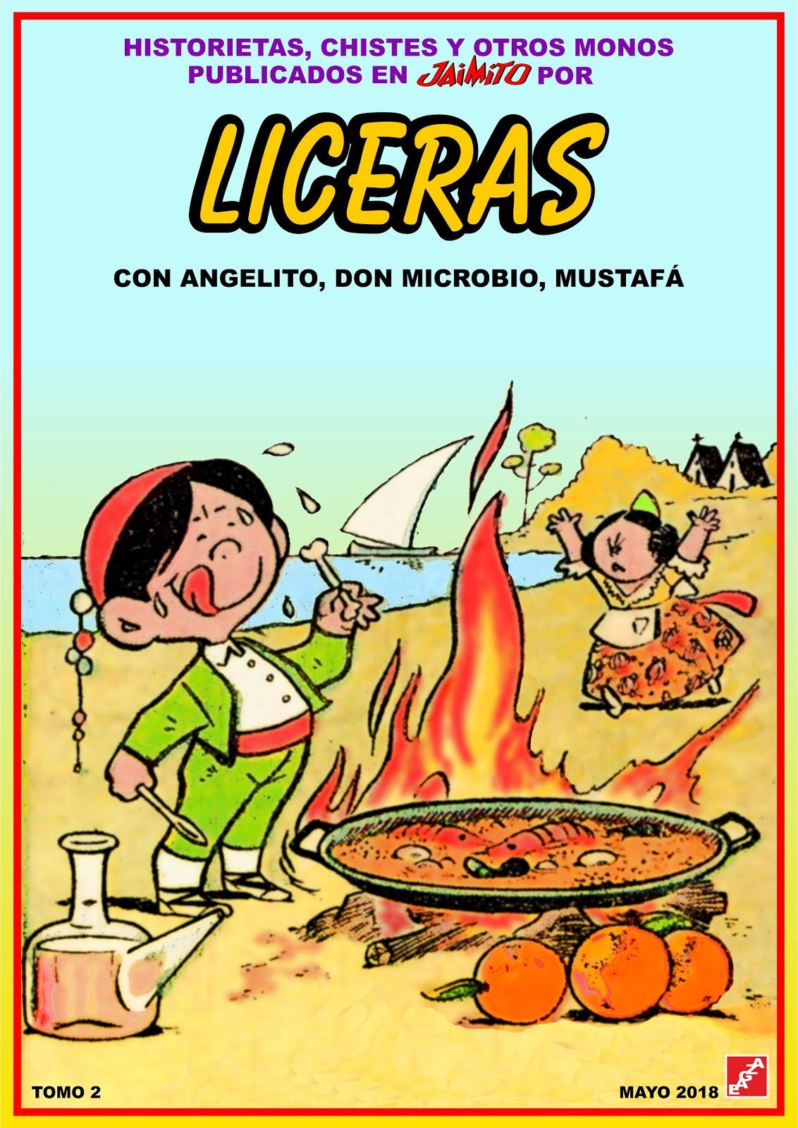 Liceras - Tomos 01 - 02 - EAGZA