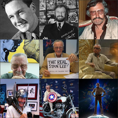Many faces of Stan Lee