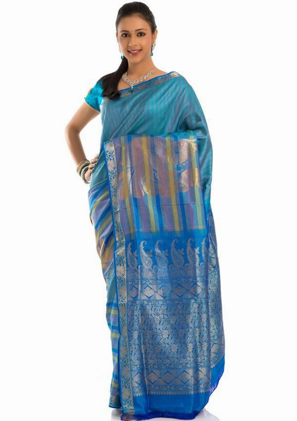 Kumaran Silks Bridal Sarees Collections