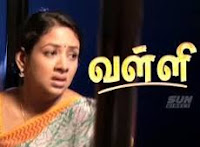 Valli 25-10-2014 – Sun TV October Serial Watch Online