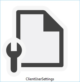 ClientUserSettings config file logo in Microsoft Dynamics NAV