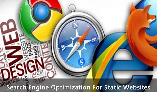 search engine optimization for static websites