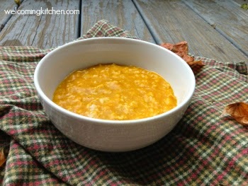 Pumpkin Pie Oatmeal - Kim's Welcoming Kitchen