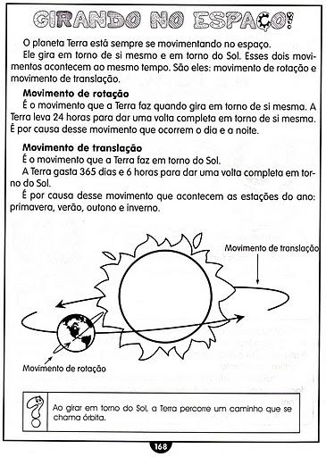 Movimento De Rotacao E Translacao on Modelo Do Sistema Solar